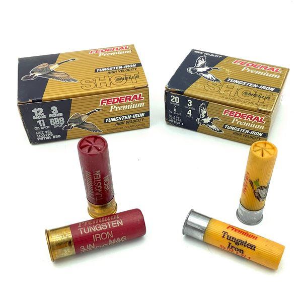 Federal Premium 12 and 20 Ga Tungsten-Iron Ammunition, 20 Rounds