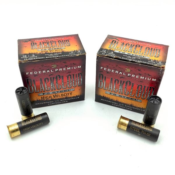 Federal BlackCloud 12 Ga 3  Ammunition, 50 Rds