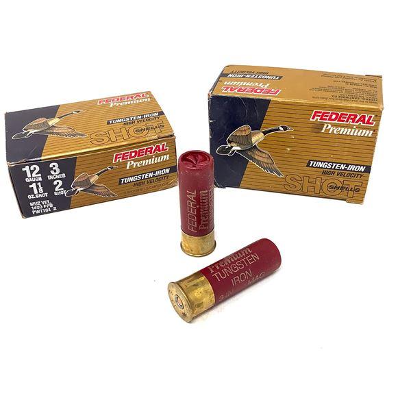 Federal Premium Tungsten-Iron 12ga Ammunition - 20 Rnds