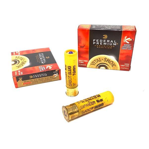 Federal 20ga Barnes Expander Ammunition - 10 Rnds