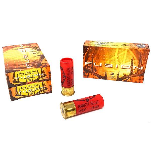 Federal Fusion 12ga Ammunition - 15 Rnds