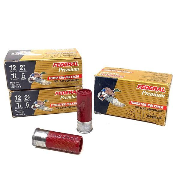 Federal Premium Tungsten-Polymer 12ga Ammunition - 30 Rnds