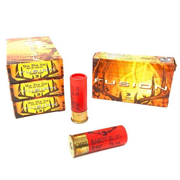 Federal Fusion 12ga Ammunition - 20 Rnds