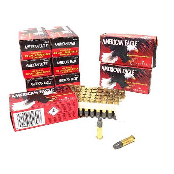 American Eagle 22LR Ammunition - 450 Rnds