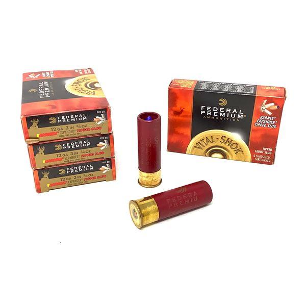 Federal 12ga Barnes Expander Ammunition - 20 Rnds