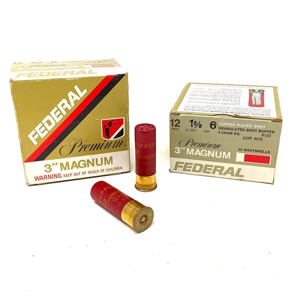 "Federal Premium 3"" Magnum 12ga Ammunition - 50 Rnds"