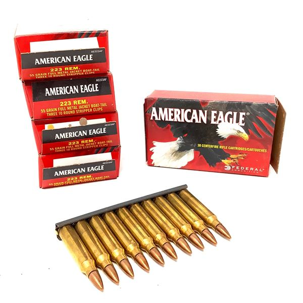 American Eagle 223 Rem Ammunition - 150 Rnds