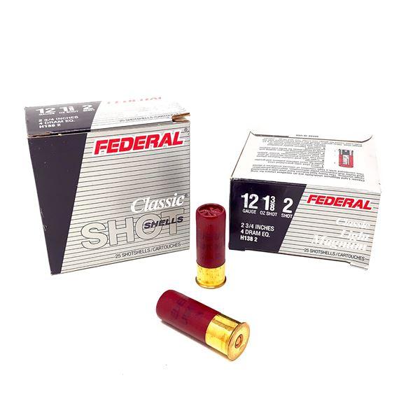 Federal Classic Light Magnum 12ga Ammunition - 50 Rnds