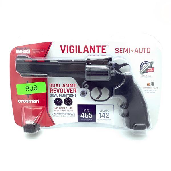 Crosman Vigilante CO2 Powered Semi Air Revolver, New