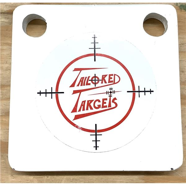 Tailored Targets, 4 inch, 5/8 Steel, AR 500, New.