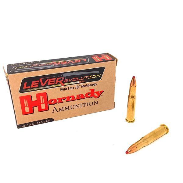 Hornady LeveRevolution 30-30 160gr FTX Ammunition, 16 Rounds