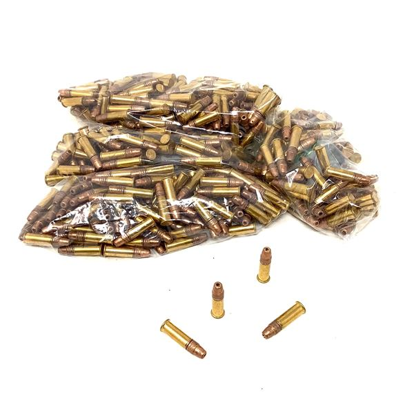 Winchester 22 LR 36 Grain Copper Plated HP Ammunition, 418 Rounds