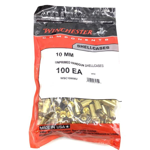 Winchester , 10mm Shellcases, New.