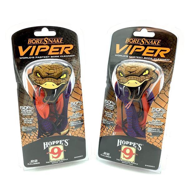 Hoppe's Viper Boresnake for 22 Cal Rifle X 2, New