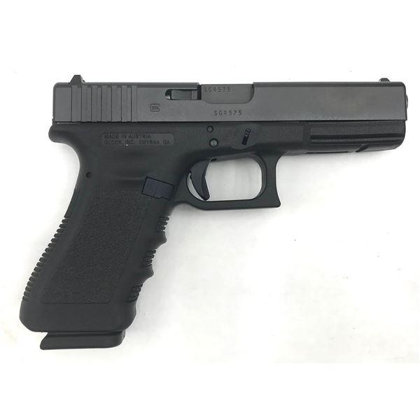 Glock 17 Gen 3 Semi Auto Pistol, 9mm