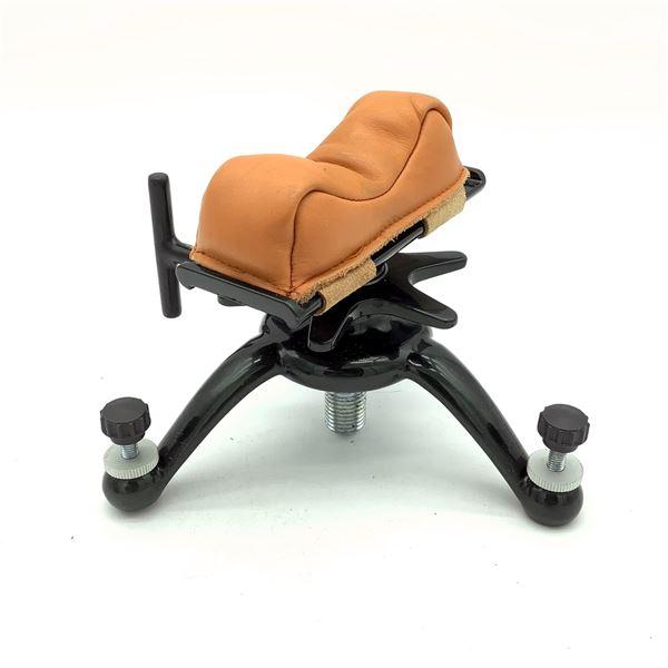 Metal/ Leather Sand-Filled Adjustable Stand