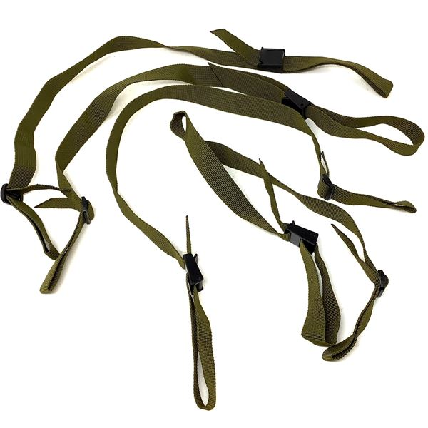 Gun Slings, Olive Drab Green X 4