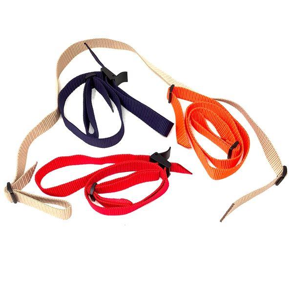 Gun Slings, Blue, Orange, Tan, Red