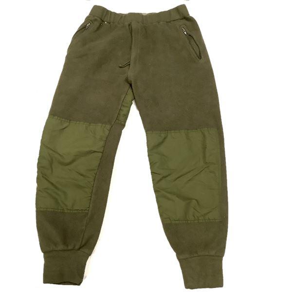 Military Fleece Pants Size 70/38, ODG