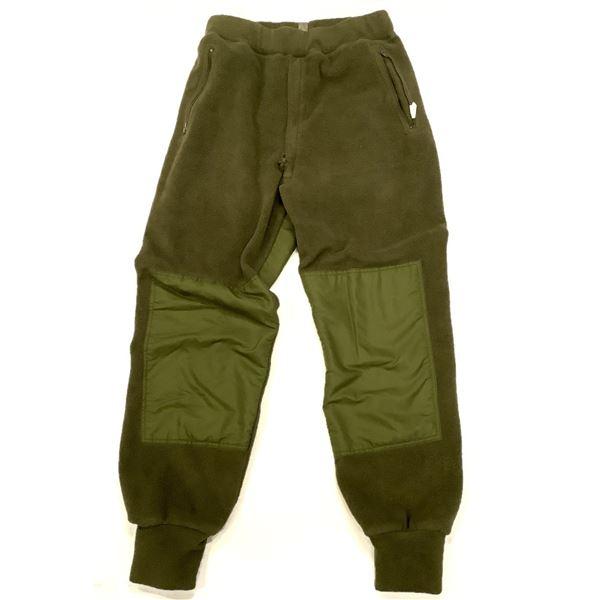 Military Fleece Pants Size 73/34, ODG