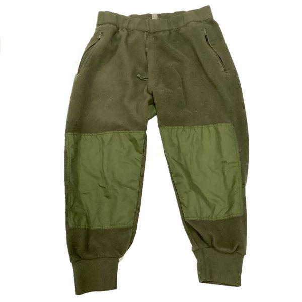 Military Fleece Pants Size 67/38, ODG