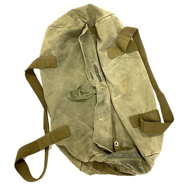 Military Canvas Duffle Bag, ODG