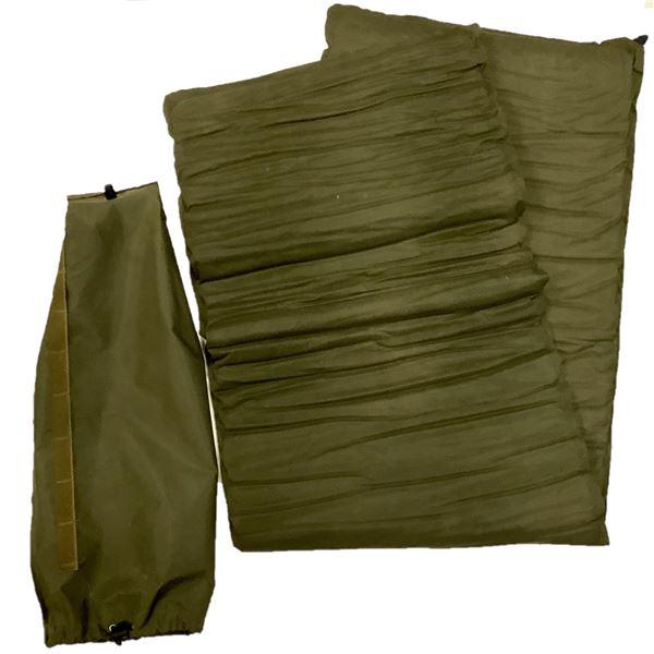 Military Self Inflating Mattress in Bag, ODG