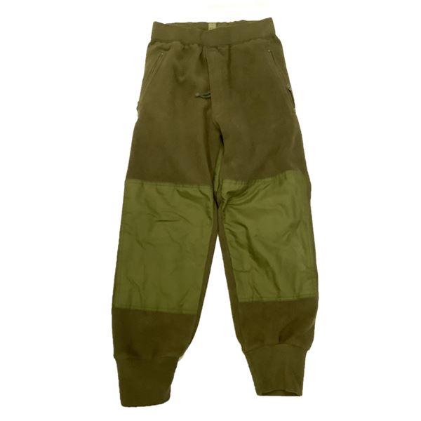 Military Fleece Pants 67/30, ODG