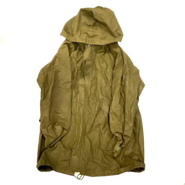 Military Rain Jacket Size 40, ODG