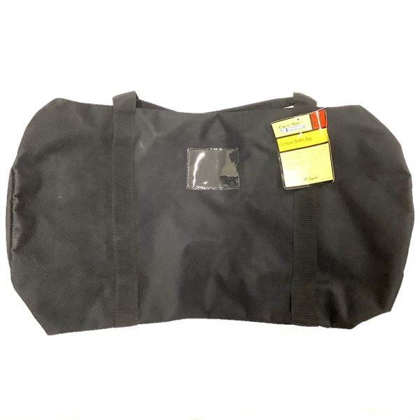"""Uncle Mike's Compact Duffle Bag, 26"""" X 12"""", Black, New"""