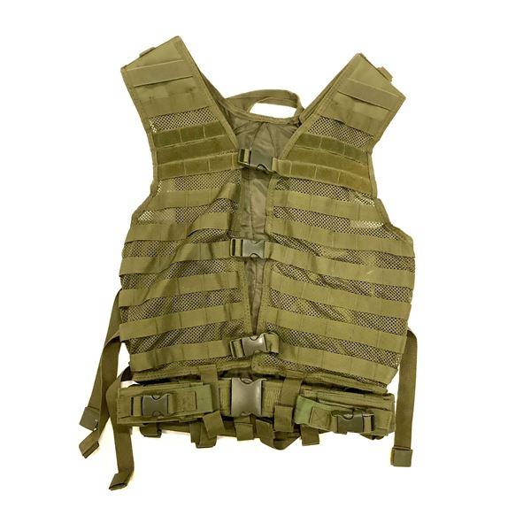 NCStar VISM Tactical Vest, ODG, New