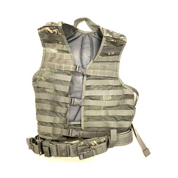 NCStar VISM Tactical Vest, Grey, New