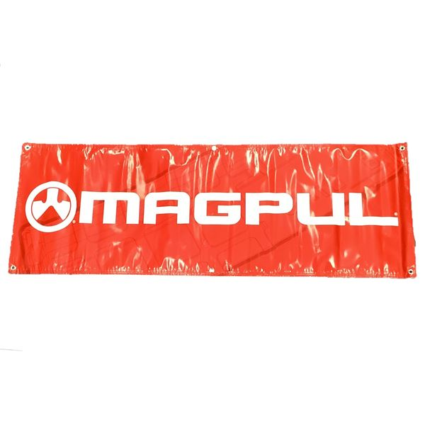 """Magpul Banner, 70"""" X 24"""", Red"""