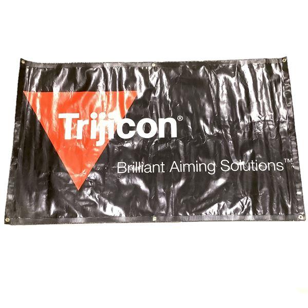 "Trijicon Banner 59"" X 36"", Black"