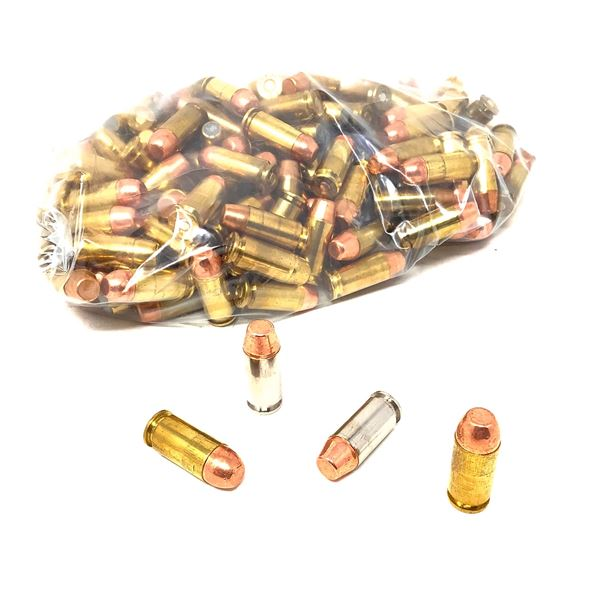 Assorted Loose 40 S & W Ammunition, 175 Rounds