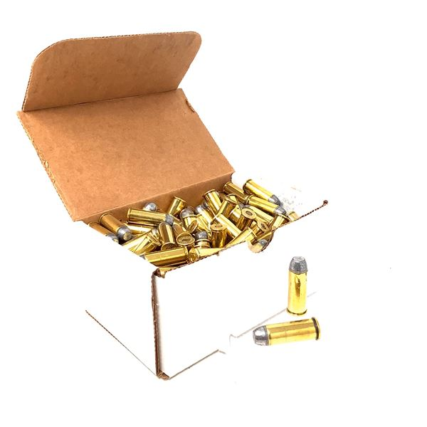 Wolf Bullets Remanufactured 44 Special LFN Ammunition, Loaded for Antique Pistols, 180 Rounds