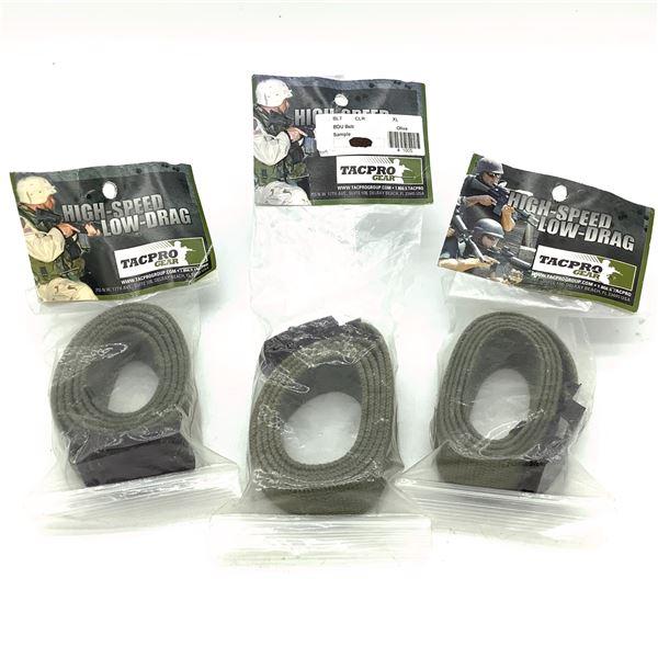 TacPro BDU Belt, XL X 3, New