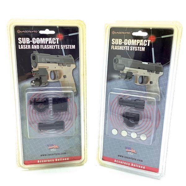 Laserlyte Sub Compact Flashlyte/ Flashlyte & Laser System, New