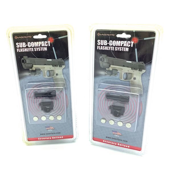 Laserlyte Sub Compact Flashlyte System X 2, New