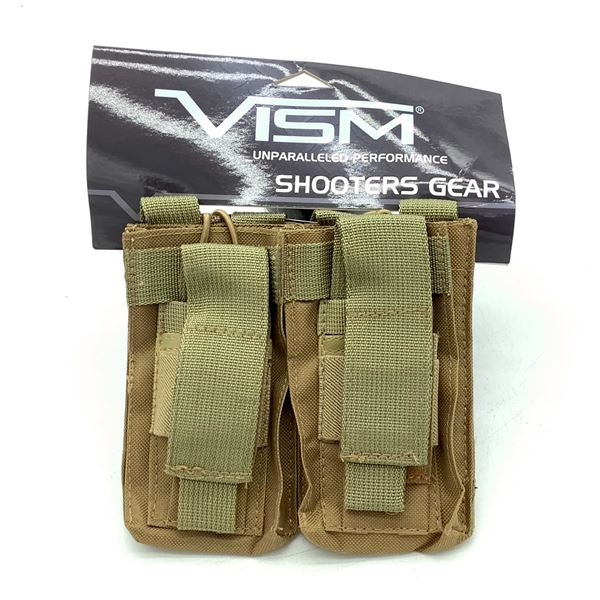 NCStar VISM Double AR 15 Magazine Pouch, ODG, New