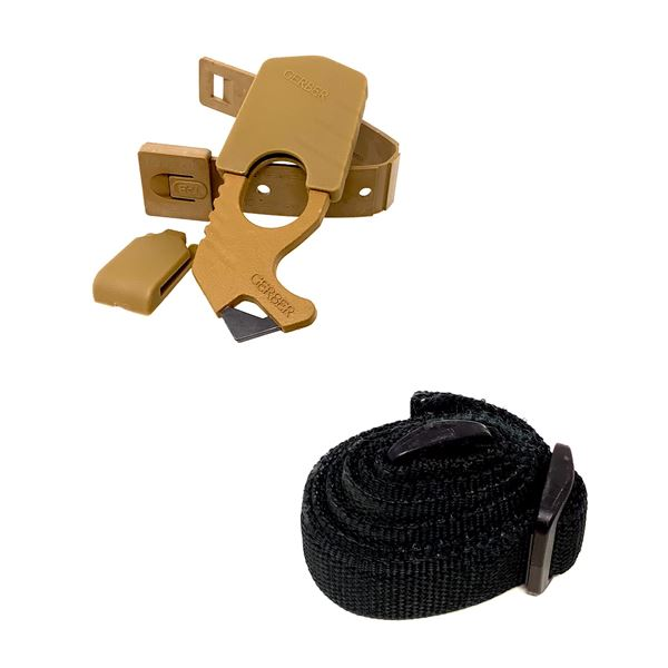 Gerber Strap Cutter, New and Black Utility Sling