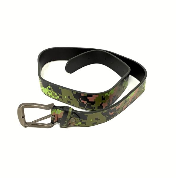 """Leather Belt, Up to 40"""", CadPat"""