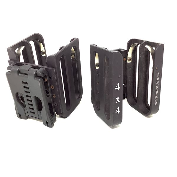 AP Customs 4X4 Shotgun Shell Holder W Teklok Belt Mount X 2