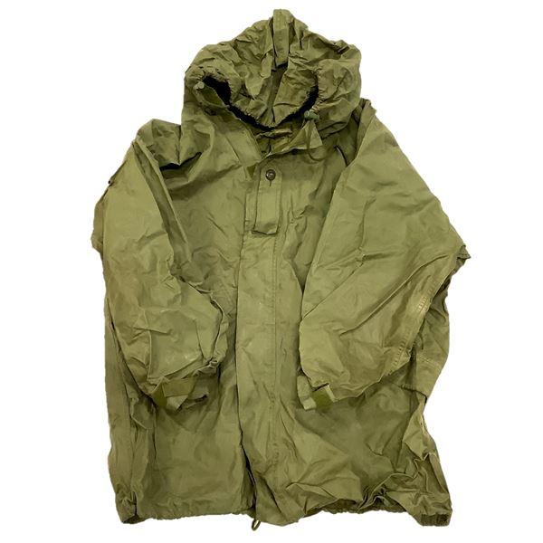 Military Rain Jacket Size 7044, ODG