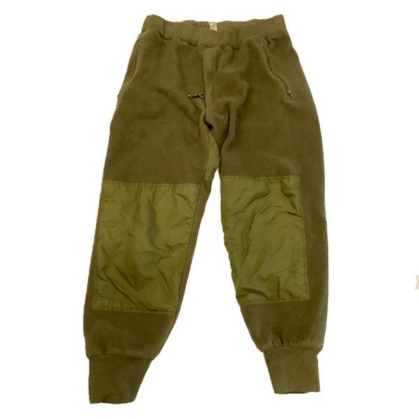 Military Fleece Pants, Size 7038, ODG
