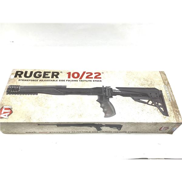 ATI  Adjustable Side Folding stock, Ruger 10/22, New.