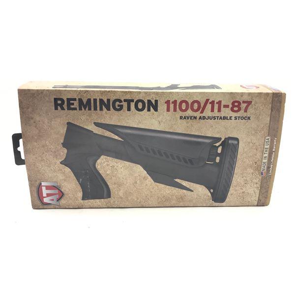 ATI Raven Adjustable Stock, Black, Remington 1100/11-87, New