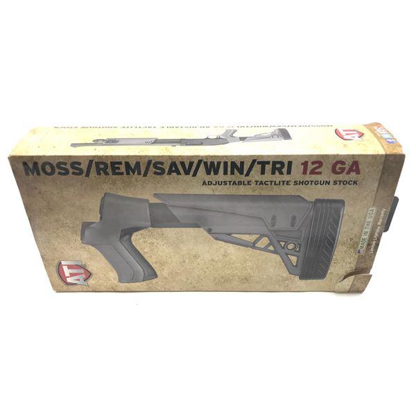 ATI TactLite Shotgun Stock, Mossberg, Remington, Savage, Winchester, TriStar, Destroyer Grey, New