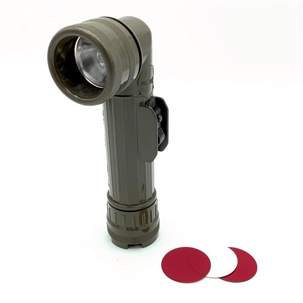 Military Flashlight With Filters