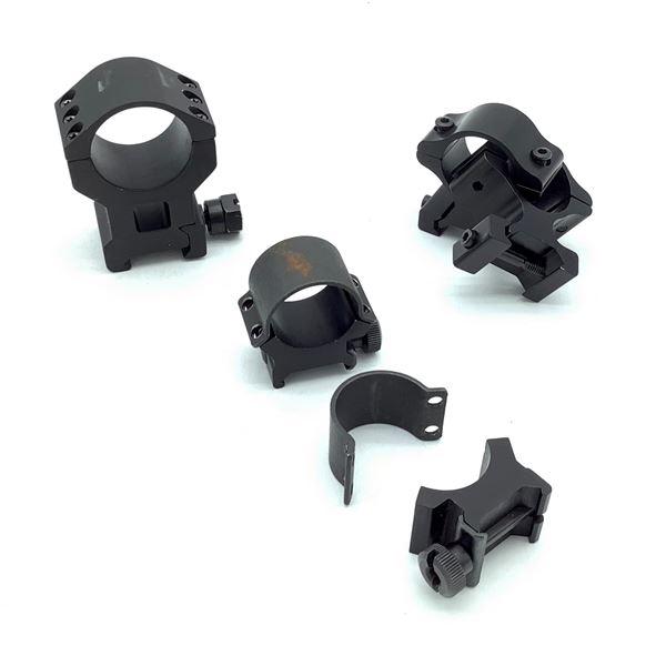 Assorted Optic Rings X 5